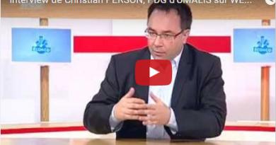 Interview de Christian PERSON, PDG d'UMALIS sur WEO TV 19 mai 2014