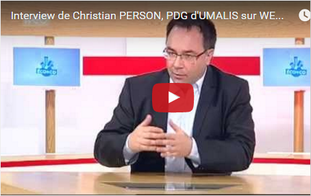 Interview de Christian PERSON, PDG d'UMALIS sur WEO TV 19 mai 2014