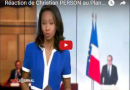 Réactions de Christian PERSON sur ARTE suite au plan d'urgence de François Hollande