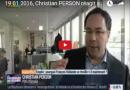 Réactions de Christian PERSON sur BFM suite au plan d'urgence de François Hollande